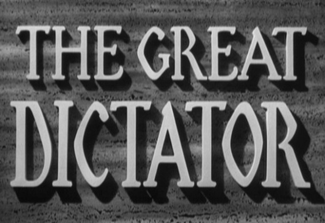 """The Great Dictator"" first shown to a private audience on first anniversary of start of WWII."