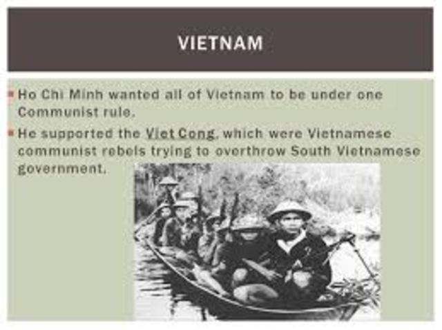 •	Ho Chi Minh Established Communist Rule in Vietnam (1954)