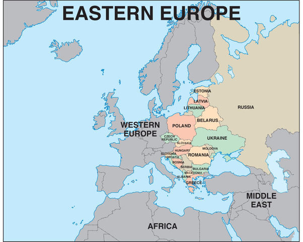 The Freedom of Eastern Europe