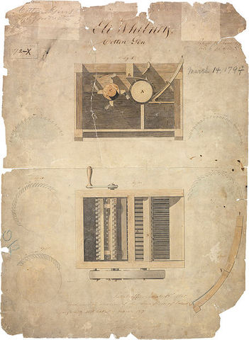 Cotton Gin Patented