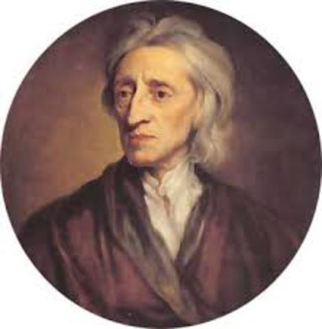 John Locke  (Wrington, Somerset, 1632 - Essex, 1704)