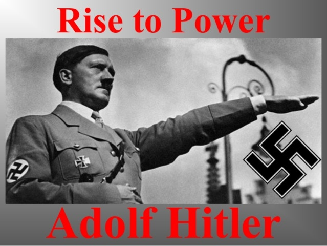 Hilter came to power