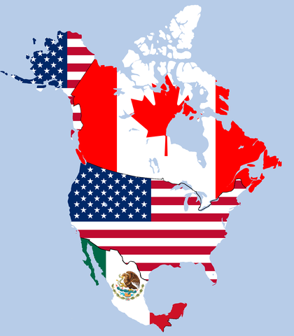Canada and the US invite Mexico to be apart of the free trade agreement