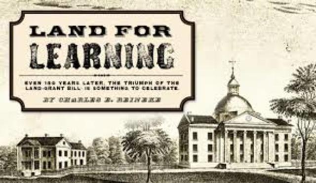 Morrill Land Grant College Act
