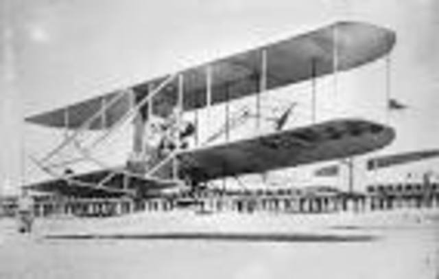 •	Wright Brother's Airplane