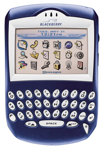 First color screen blackberry