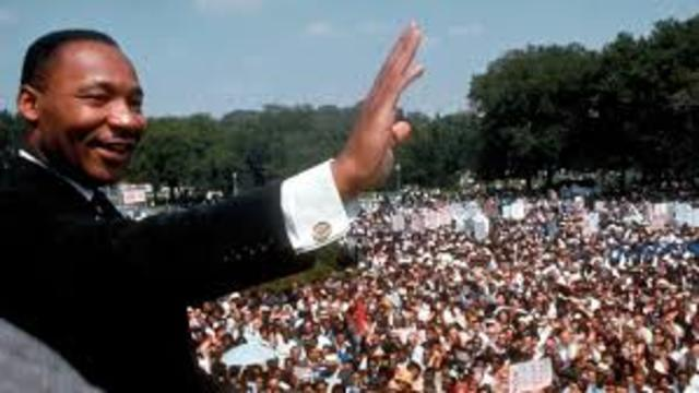 •	March on Washington