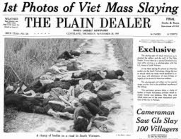 •	My Lai Massacre
