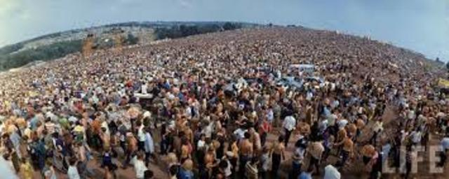 •	Woodstock Music Festival (1969