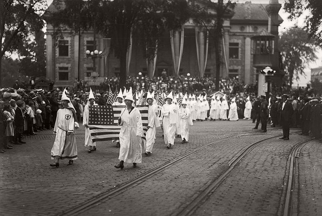 Reemergence of the Ku Klux Klan (KKK)