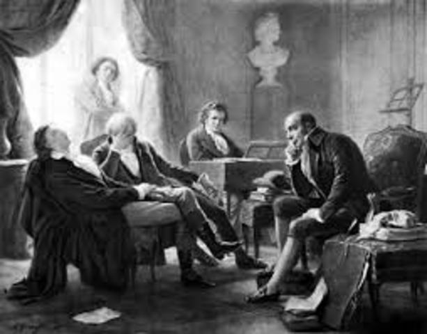 1812 Meeting in Bohemia with Goethe. Compose the seventh and eighth symphonies.