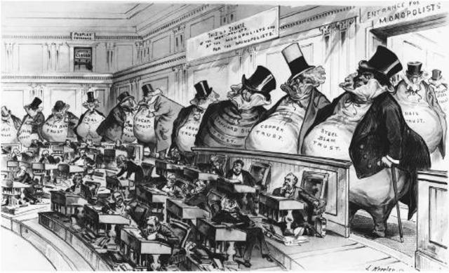 Sherman antitrust act