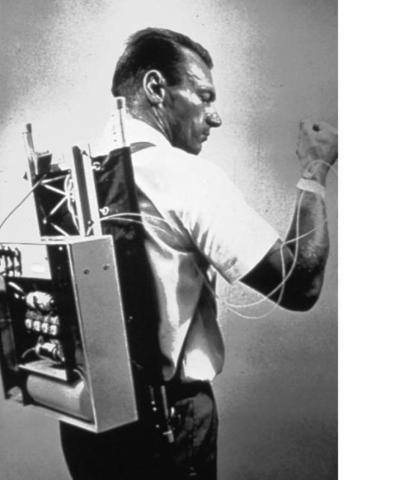 First prototype of an insulin pump