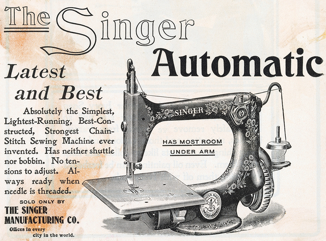 an introduction to the life of isaac merritt singer creator of the first sewing machine Not much is known about the life of thomas saint usually credited with patenting the first sewing machine in 1790 isaac merritt singer.