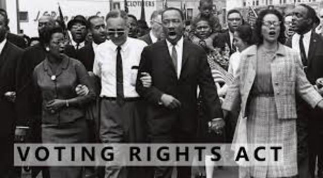 •	Voting Rights Act of 1965