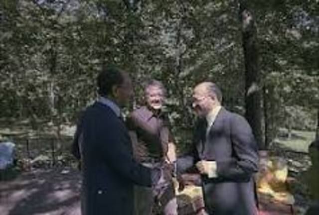 •	Camp David Accords