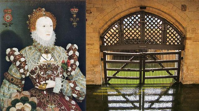 Elizabeth I Imprisoned in Tower of London