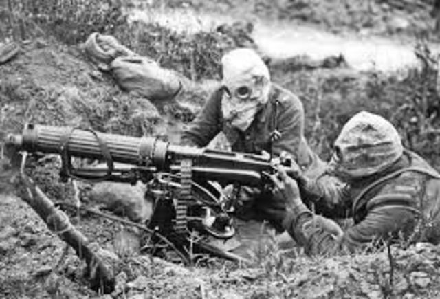 Trench Warfare, Poison Gas, and Machine Guns