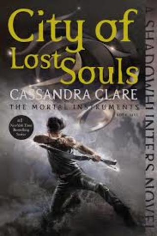 Publishes City of Lost Souls