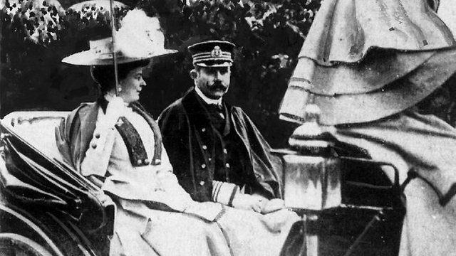 Assassination of Archduke Franz Ferdinand and his wife, Sophie