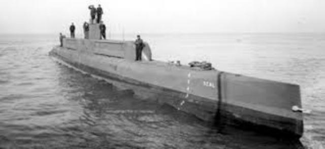 Germany's Resumption of Unrestricted Submarine Warfare