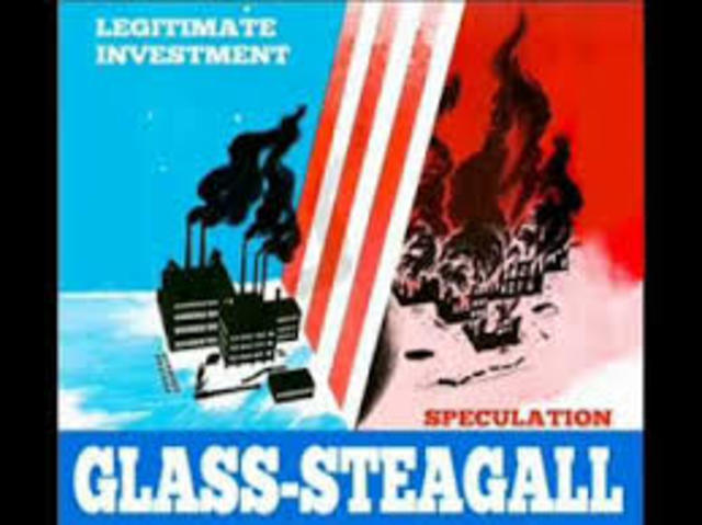 Glass- Stegall Act