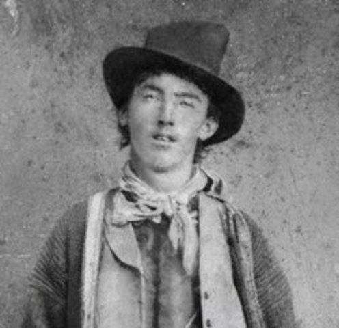 "William ""Billy the Kid""  McCarty Born"