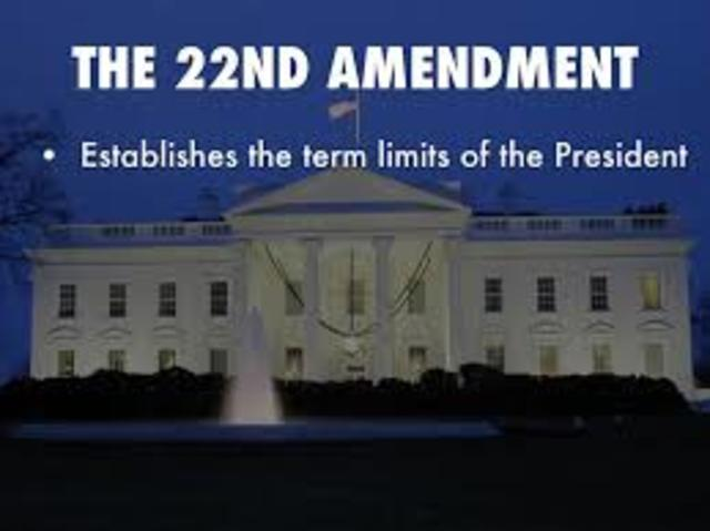 22nd Amendment