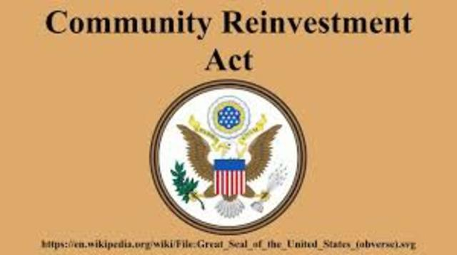 Community Reinvestment Act of 1977 (1977)