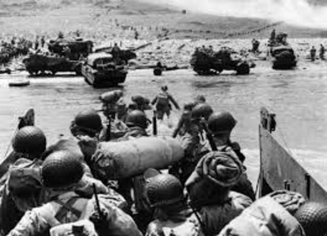 •	Invasion of Normandy (D-Day)