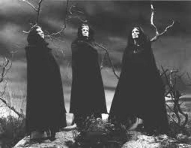 Witches give Macbeth another prophecy