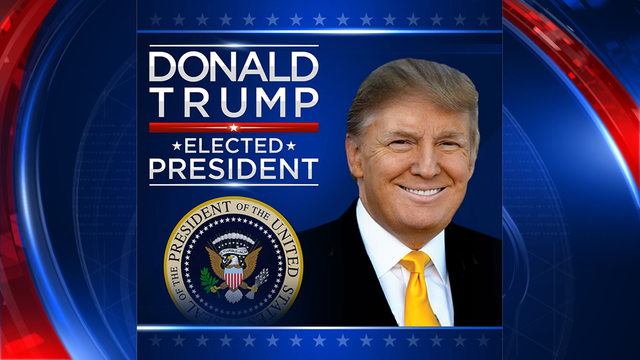 •	Donald Trump Elected President
