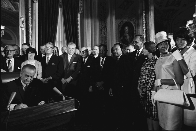 •	Voting Rights Act of 1965 (1965)