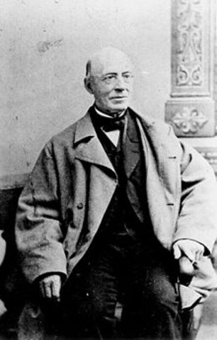 William Lloyd Garrison founds the American Anti-Slavery Society
