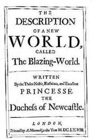 Blazing World Published by Margaret Cavendish