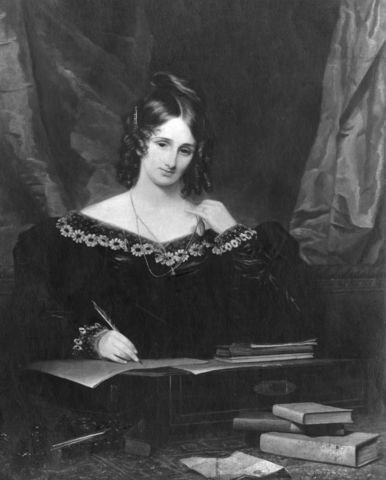 Mary Shelley Publishes Frankenstein