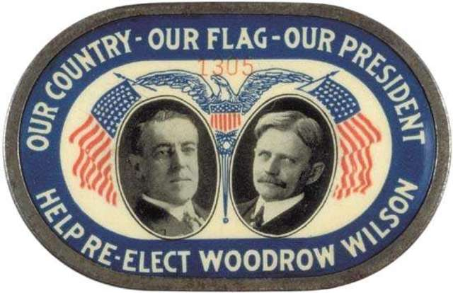 Wilson Re-elected; Pledged American Neutrality