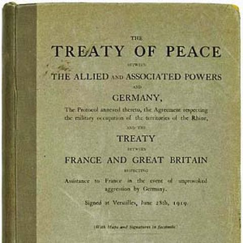 Treaty of Versaillies