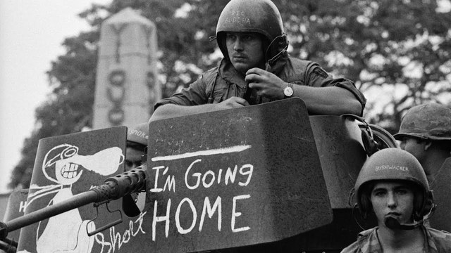 Last U.S. troops leave Vietnam