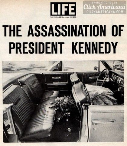 President Kennedy is assasinated