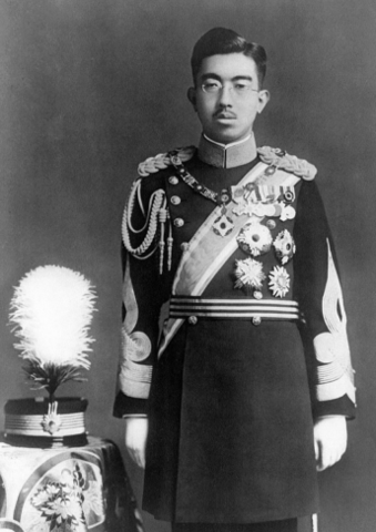Emperor Hirohito takes the throne and remained emperor through WWII.