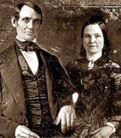 Lincoln Marries Mary Lincoln