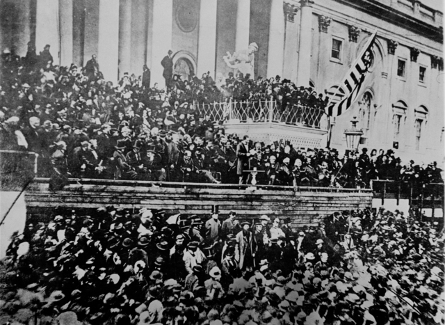 Lincoln's First Presidential Inauguration