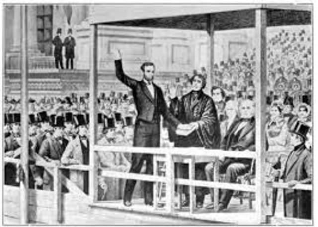 Lincoln's first inaugural address