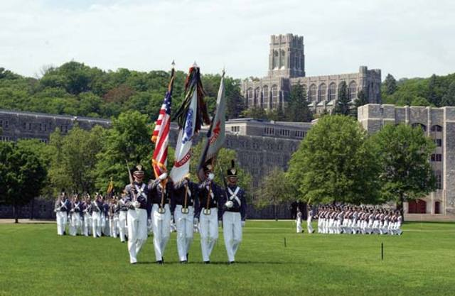 George Pickett Graduates at West Point Military Academy