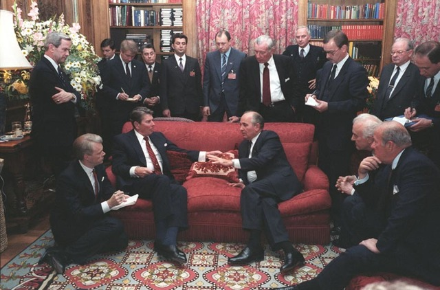 Geneva Conference with Gorbachev
