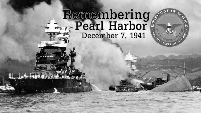 The attack on Pearl Harbor begins