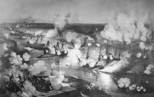 Siege of New Orleans by Union