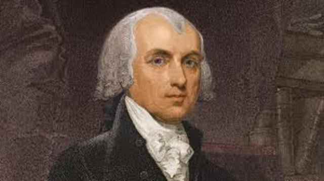 Marries James Madison