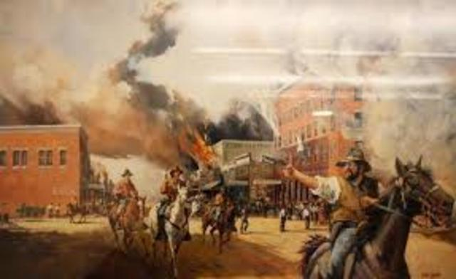 Sacking of Lawrence, Kansas by Confederates